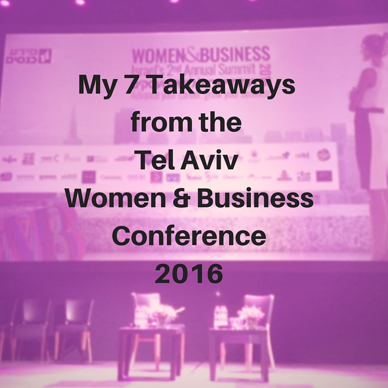 Women and Business Conference Tel Aviv